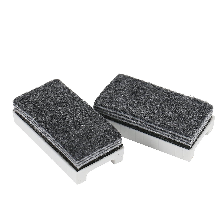 Pack de 2 esponjas de pizarra blanca con 6 capas de limpieza ...