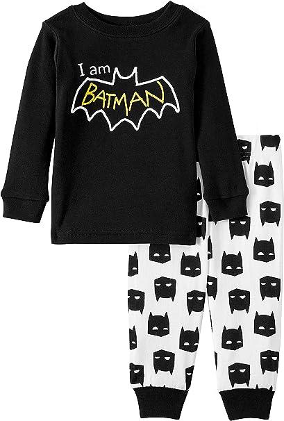 Batman PJs Pajama Sleep Wear Set for Boys