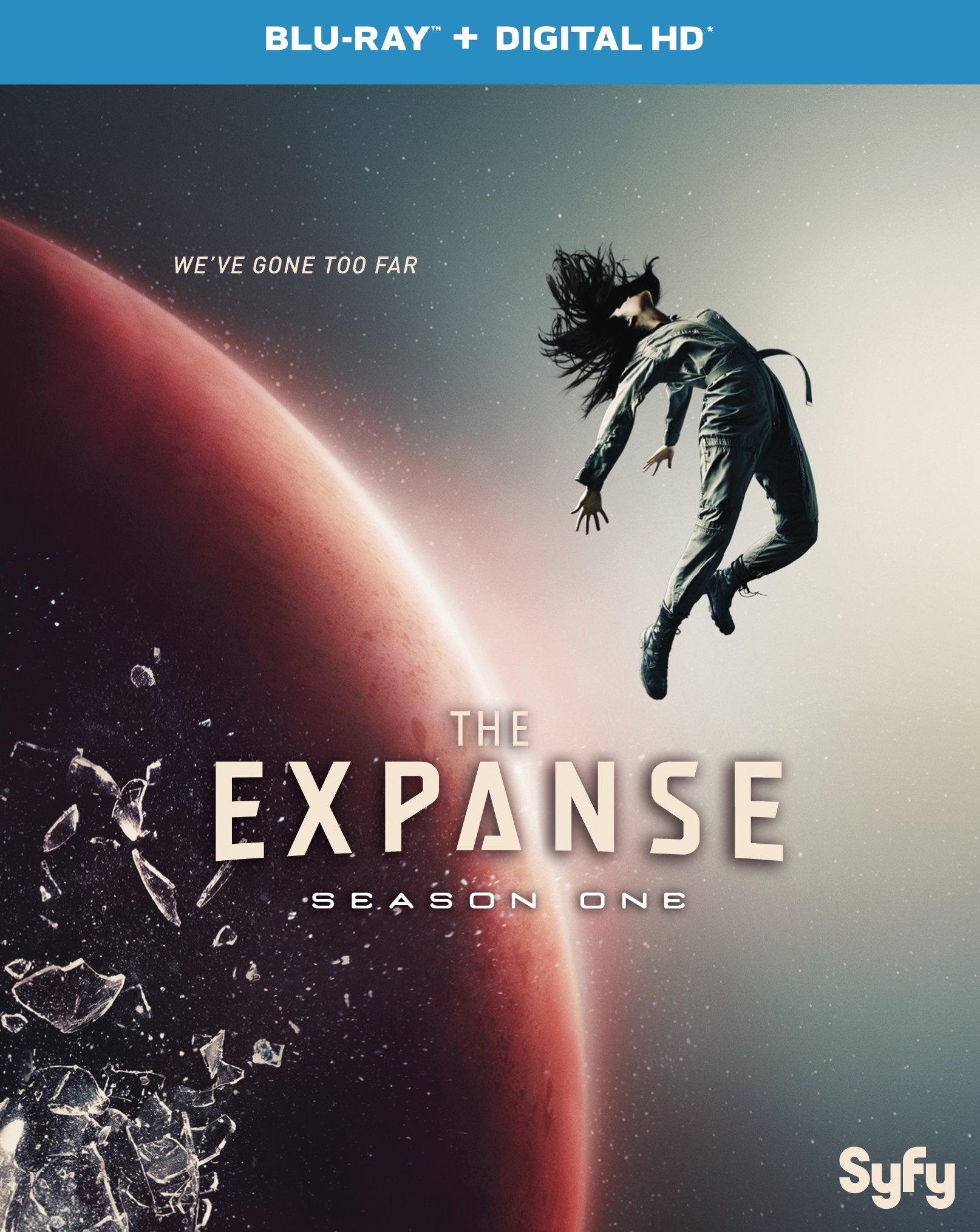 Blu-ray : The Expanse: Season One (Ultraviolet Digital Copy, Snap Case, Slipsleeve Packaging, 2 Pack, Digitally Mastered in HD)