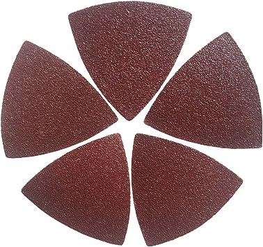 30* Oscillating Sanding Paper 60//80//120Grit+1* Triangular Sand Disc Kit For Fein