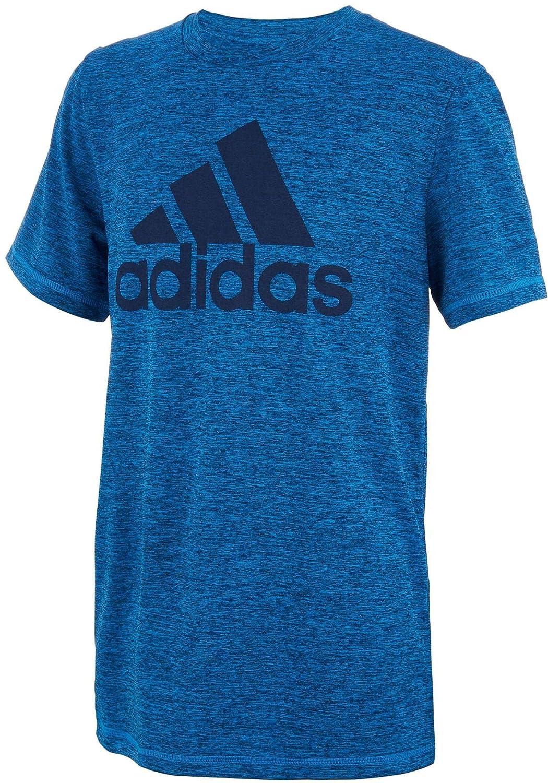 adidas Boys Short Sleeve Logo Tee Shirt