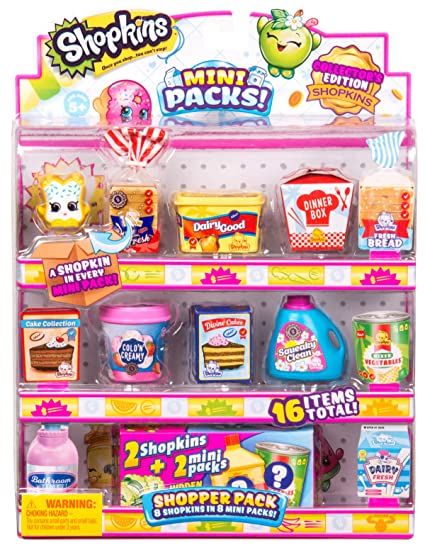 amazon com shopkins season 10 mini pack shopper pack toys games
