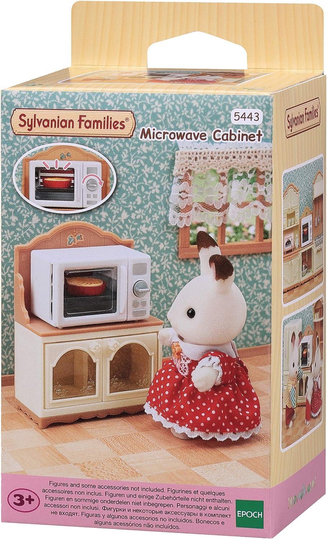 Sylvanian Families- Set de Mueble Microondas, Color (EPOCH 5443)