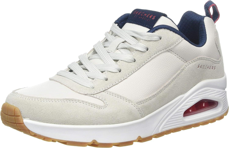 Skechers Uno-Stacre, Zapatillas para Hombre: Amazon.es: Zapatos y ...