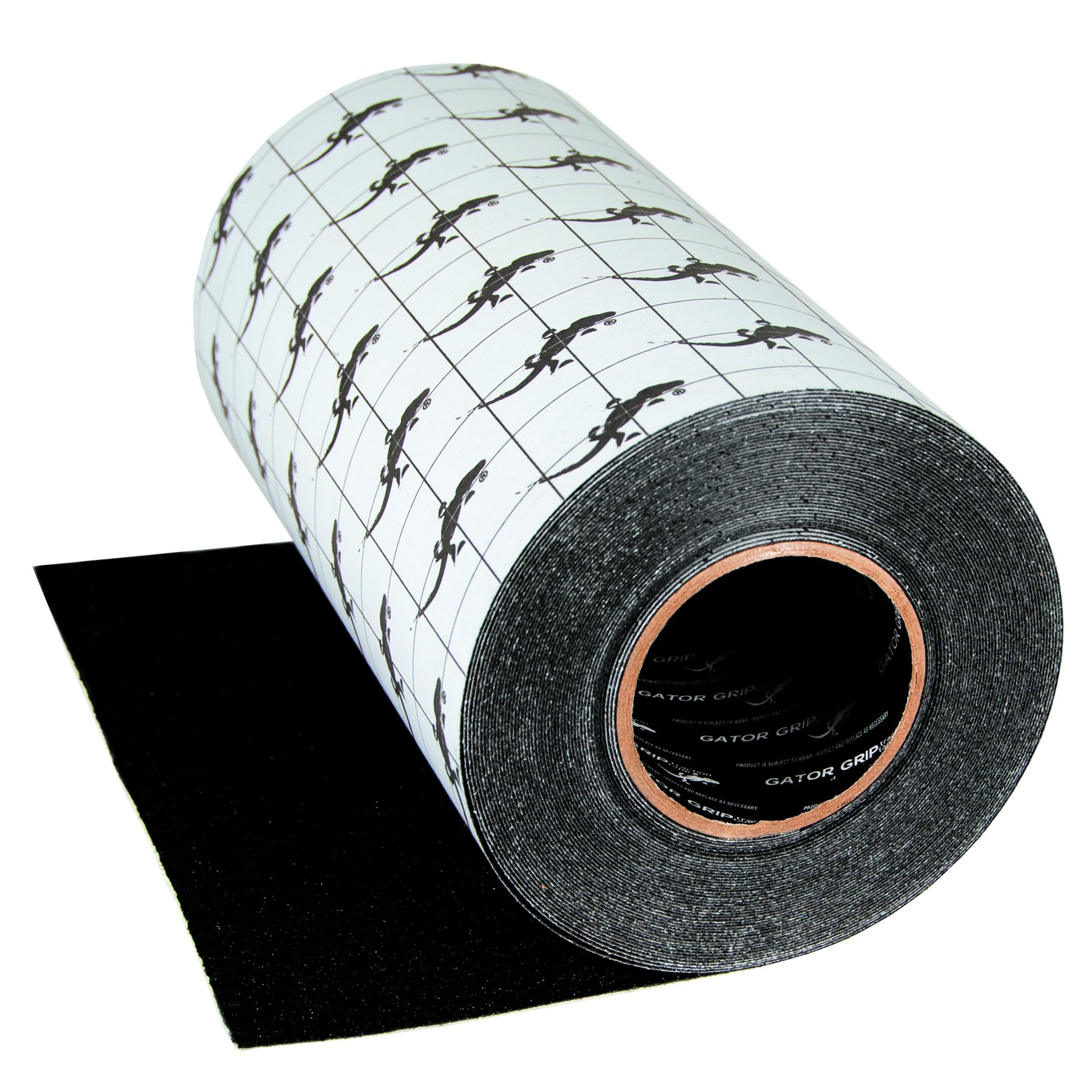 Gator Grip  : SG3112B Premium Grade High Traction Non Slip 60 Grit Indoor Outdoor Anti-Slip Tape, 12 Inch x 60 Foot, Black