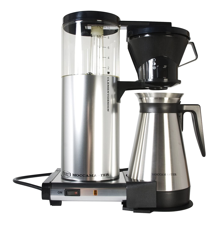 Amazoncom Technivorm Moccamaster Cdt Coffee Maker Chrome Drip
