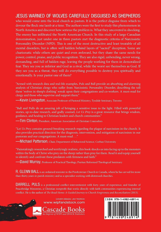 Let Us Prey: R  Glenn Ball, Darrell Puls, Steven J  Sandage