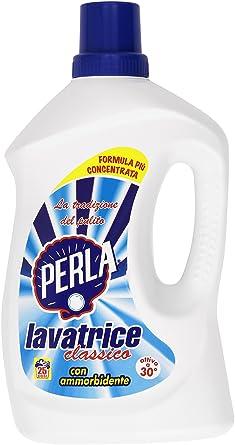 Perla-Detergente Lavadora Clásico, 2150-Suavizante Ml: Amazon.es ...