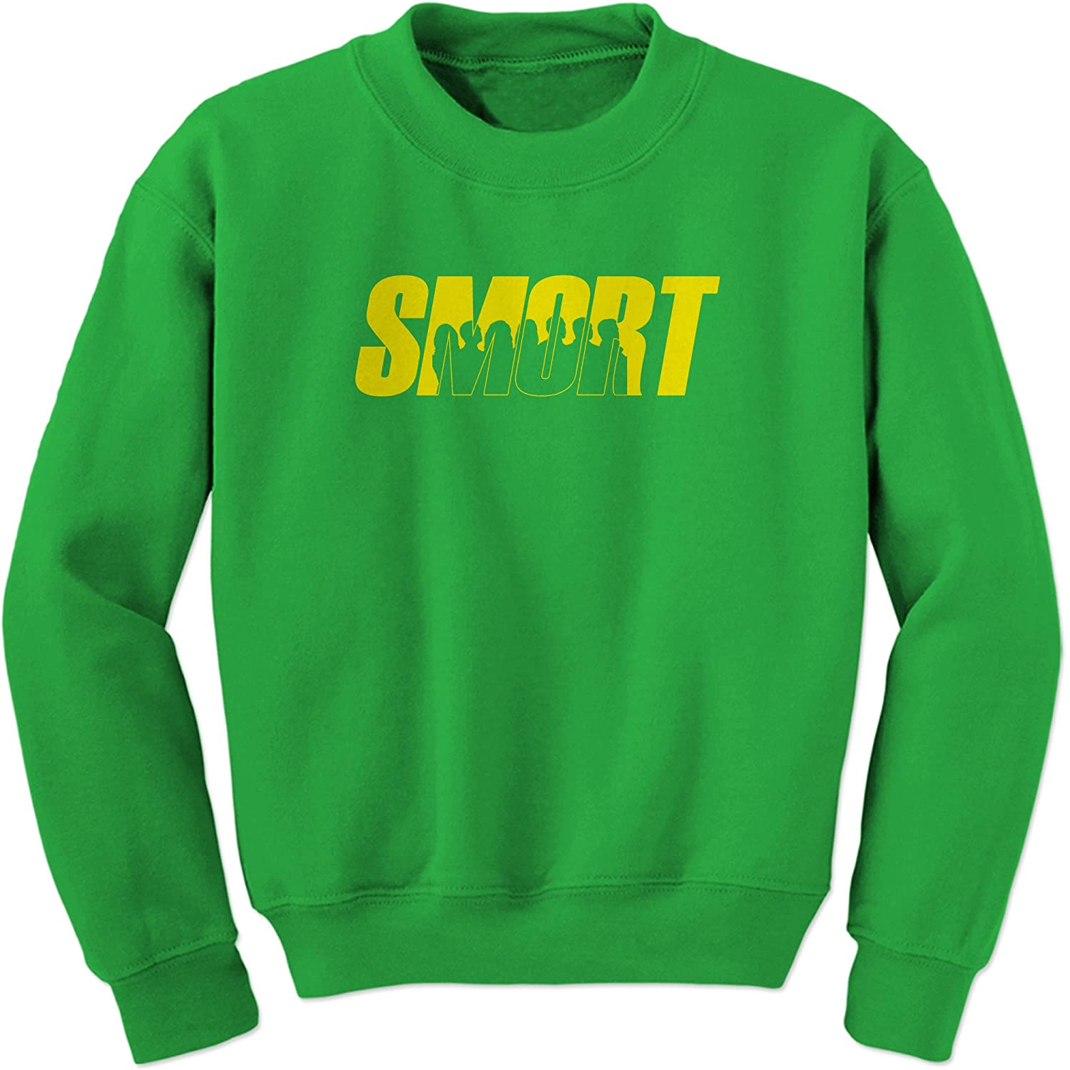 FerociTees Smort Brooklyn 99 Funny Crewneck Sweatshirt