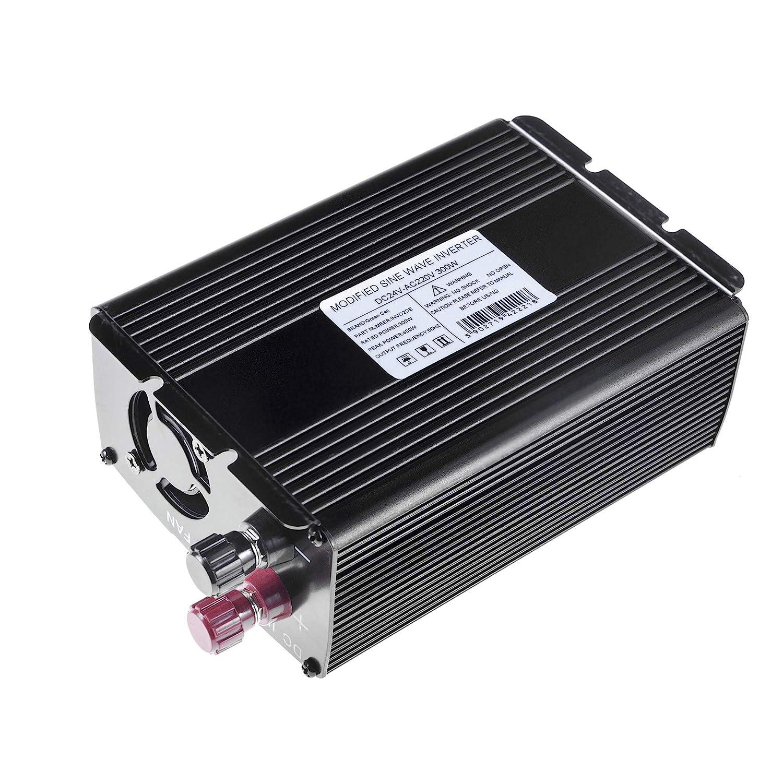 Green Cell/® 500W//1000W Onda Pura Inverter Invertitore di Tensione DC 12V AC 230V per Camper Auto Convertitore di Potenza Trasformatore sinusoidale Pura per Auto Porta USB per Batteria Auto