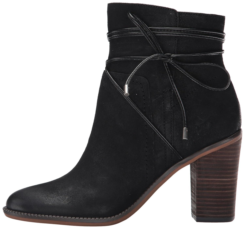 Franco Sarto Women's Edaline Ankle Bootie B01E7XG7PC 5.5 B(M) US|Black