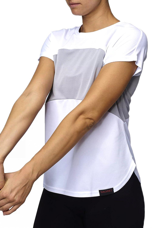 Sundried Damen Top für Training und Laufen Gymwear für Frauen