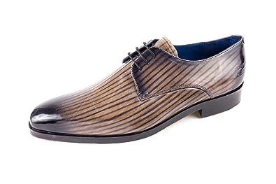 Melvin   Hamilton MH15-445, Chaussures de Ville à Lacets pour Homme Gris  Gris abc049b30aba