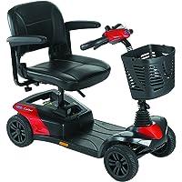 Scooter Colibri | 4 ruedas |Color Rojo batería: