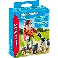 Playmobil - 5380 - Jeu - Eleveuse de Chiens