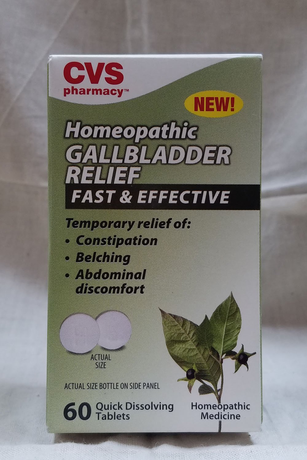 amazon com cvs homeopathic gallbladder relief 60 tablets health