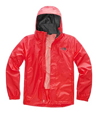 3d78b01c7857 The North Face Men's Resolve 2 Jacket Fiery Red/Asphalt Grey Small