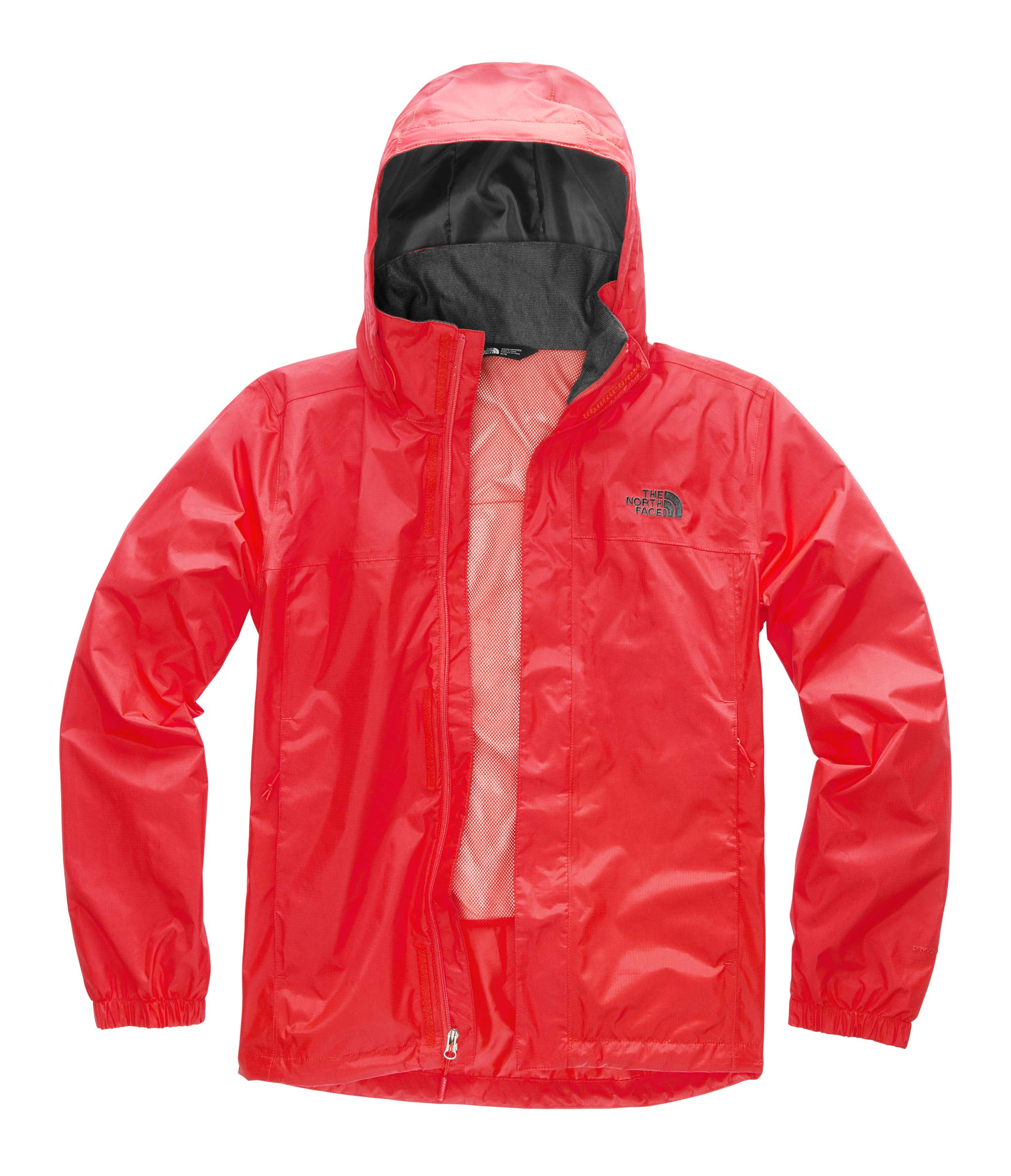The North Face Men's Resolve 2 Jacket Fiery Red/Asphalt Grey Small