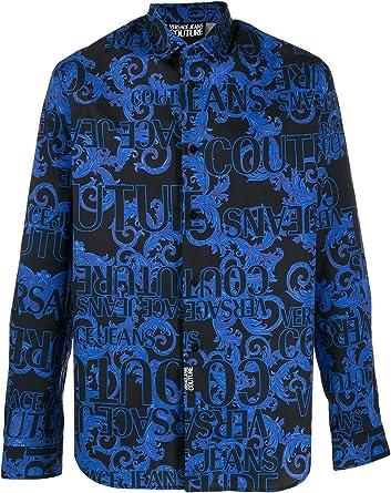 Versace Camicia Camisa Casual para Hombre: Amazon.es: Ropa y accesorios