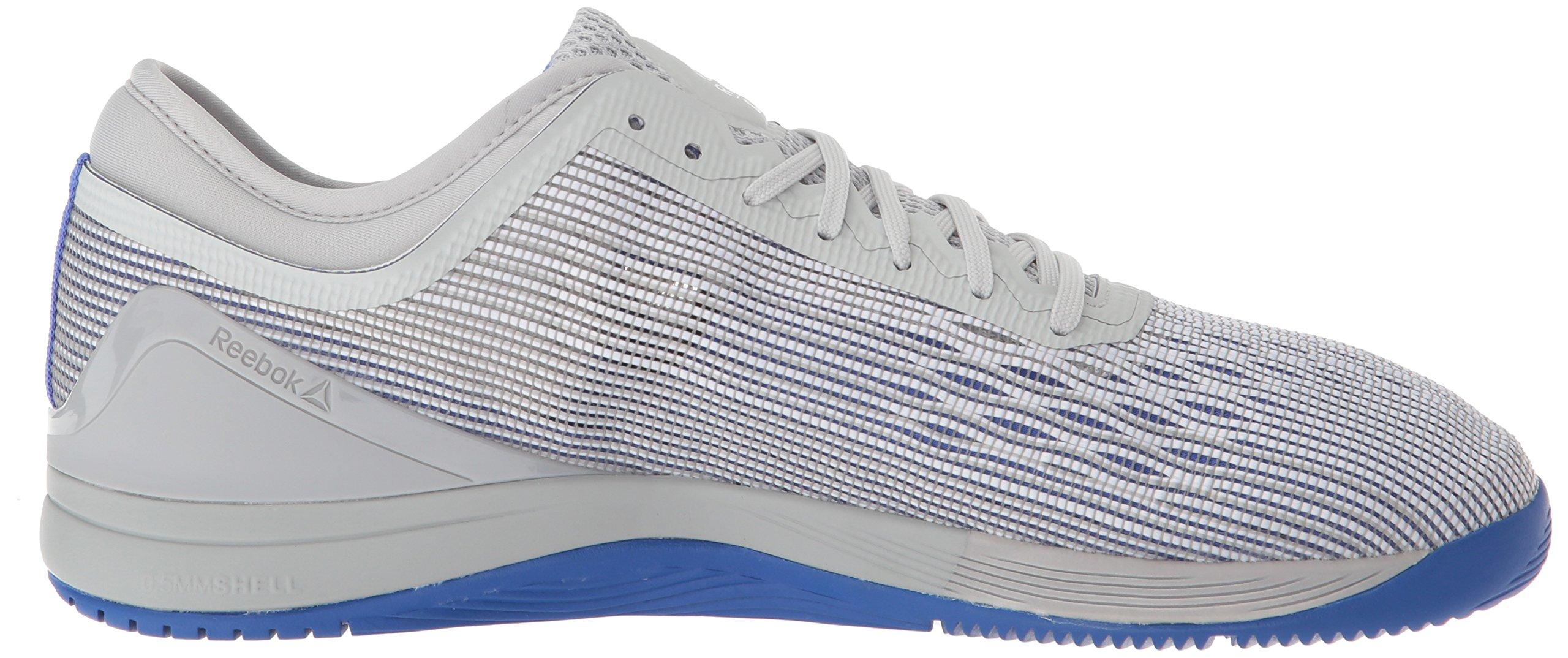 Reebok Men's CROSSFIT Nano 8.0 Sneaker, White/Stark Grey/Skull GR, 6.5 M US by Reebok (Image #6)