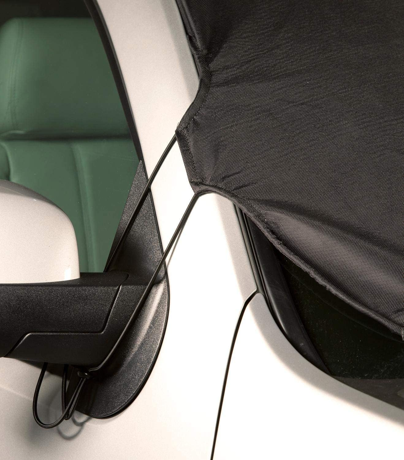 Black Coverking Custom Windshield Snow Cover//Frost Shield for Select Toyota Tundra Models Ballistic
