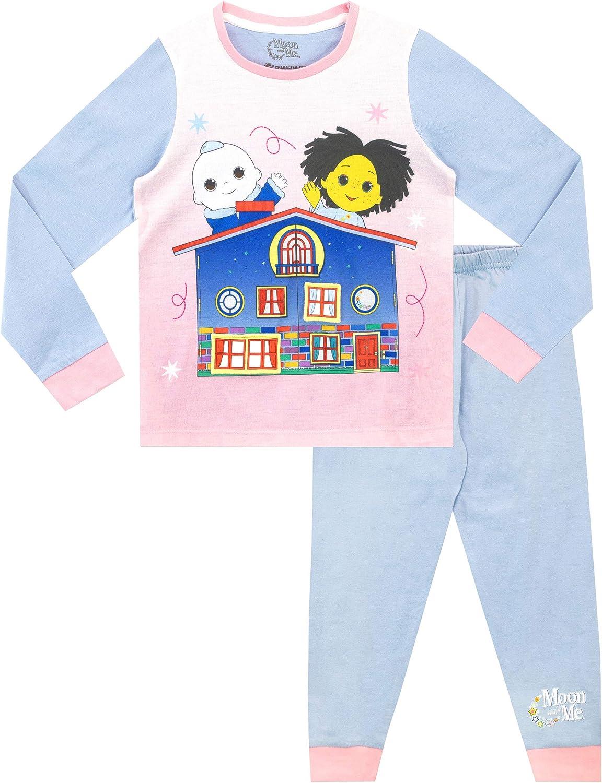 Moon & Me Pijamas de Manga Larga para niñas