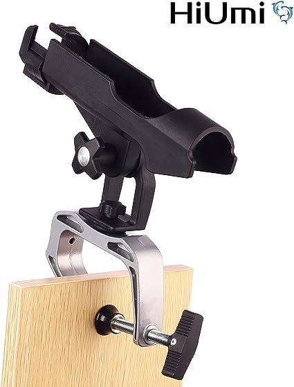 Aluminum Alloy Heavy Duty Fishing Pole Rod Holder with Universal Clamp 1#