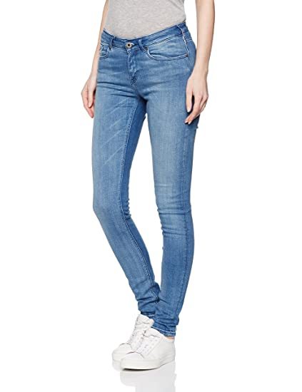 Womens La Bohemienne-Black and Blauw Slim Jeans Scotch & Soda OjqmO