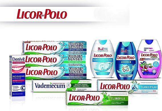Licor del Polo - Pasta de dientes 2 en 1 Non-Stop White ...