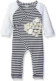 d37b97290f5 Amazon.com  Mud Pie Baby Girls  Owl Ruffle Playwear One Piece