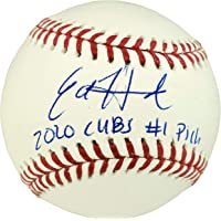 """$90 » Ed Howard Autographed Official MLB Baseball Chicago Cubs""""2020 Cubs Stock #1 Pick"""" Beckett BAS Stock #179019 - Autographed Baseballs"""