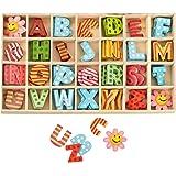 Haba Holzbuchstaben 5 Stück im Set inkl. Klebepunkte und ...