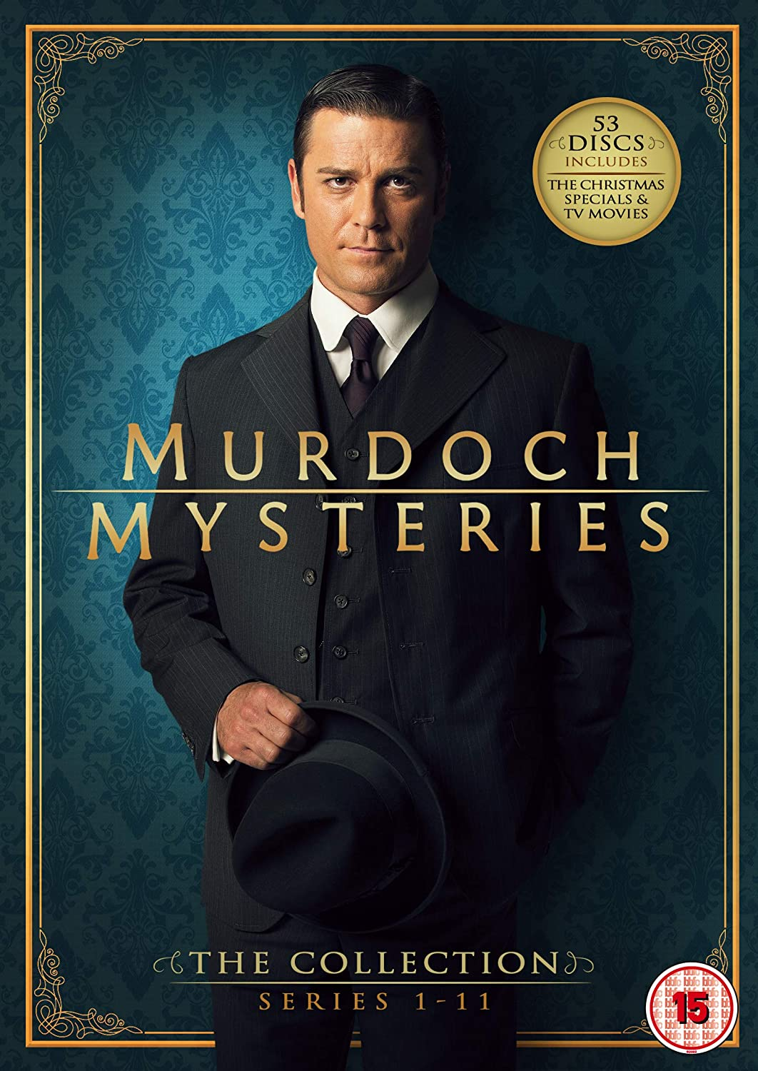 Murdoch Mysteries: The Collection (Series 1-11 + Specials)