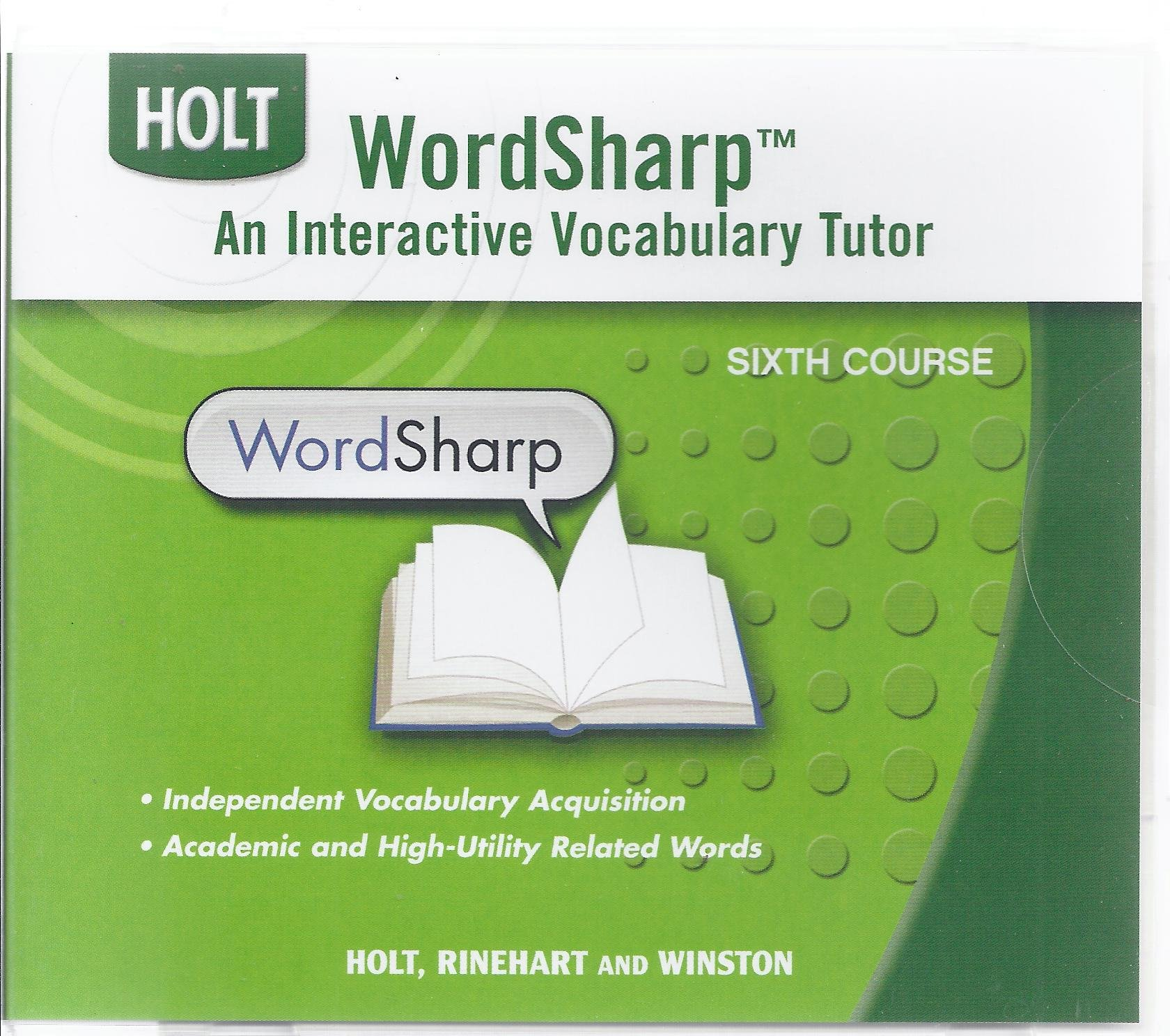 Download Interactive Vocabulary Tutor For Holt Sixth Course (Elements of Language) ebook