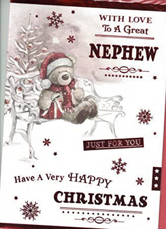 Prelude Nephew Weihnachten Karte ~ Weihnachten Wishes to a great ...