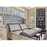 Sven & Son Split King Adjustable Bed Base Frame Platinum (Individual Head Tilt & Lumbar) USB Ports, Zero Gravity, Anti…
