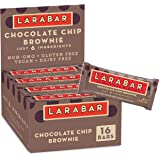 Larabar Chocolate Chip Brownie, Gluten Free Vegan Fruit & Nut Bar, 1.6 oz Bars, 16 Ct