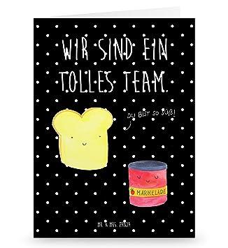 Ei... Postkarte Toast /& Marmelade Grußkarte Geschenkkarte Postkarte Karte