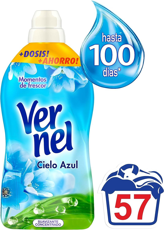Suavizante concentrado Vernel Cielo Azul por sólo 2,55€
