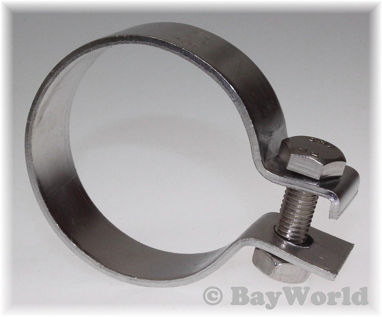 DIN Schelle 94,5mm V2A Edelstahl 3.75 Zoll Breitbandschelle Auspuffklemme