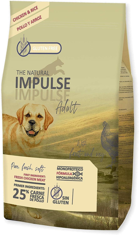 IMPULSE Pienso para Perros Natural Adult Chicken 12 Kg ...