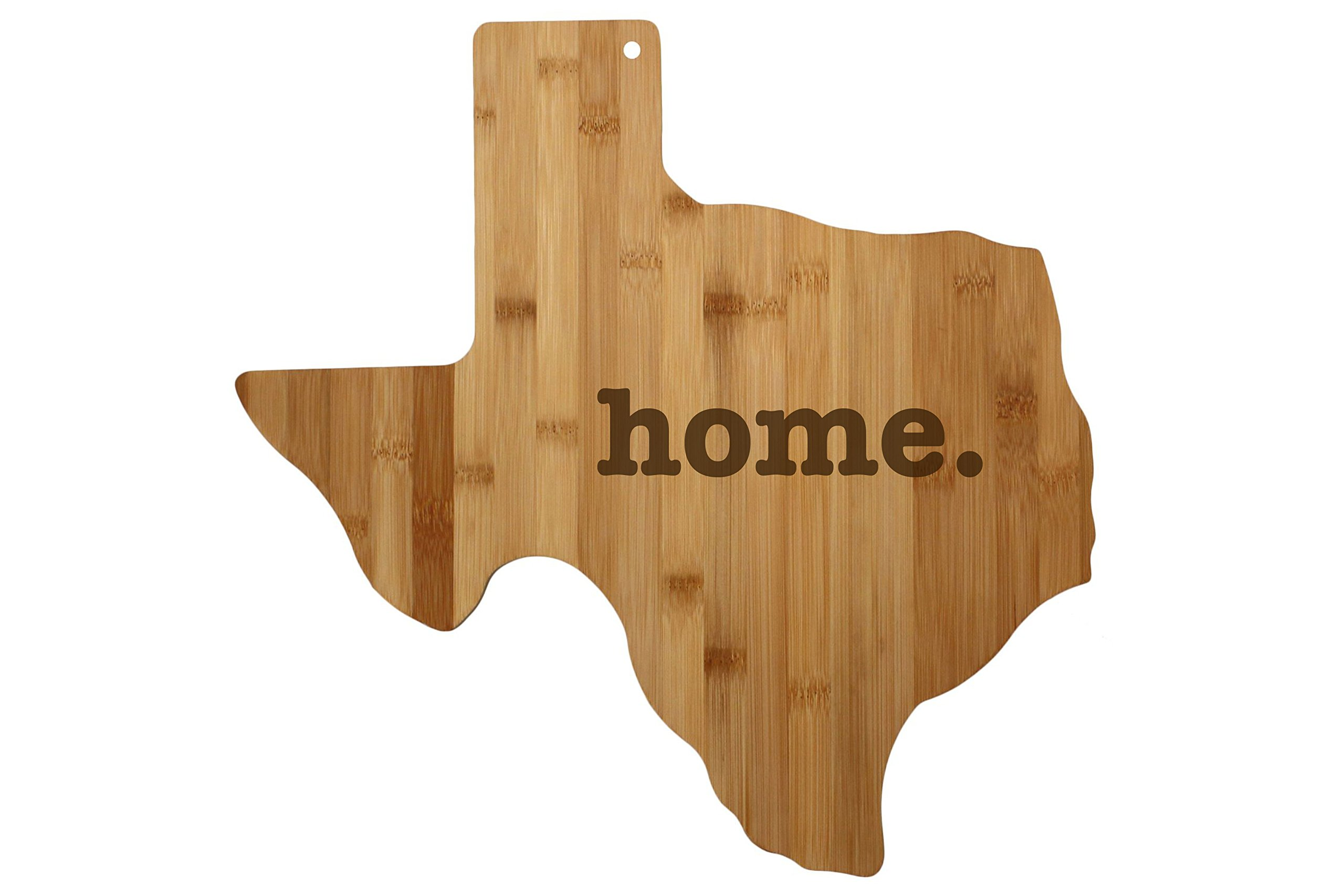 Texas Cutting Board State Shaped Wood Bamboo Engraved home. For New Family Home Housewarming Wedding Moving Father's Day Gift