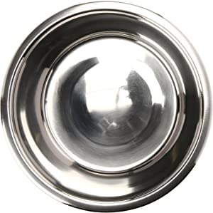 QT Dog Standard Stainless Steel Food Bowl, 2 Quart