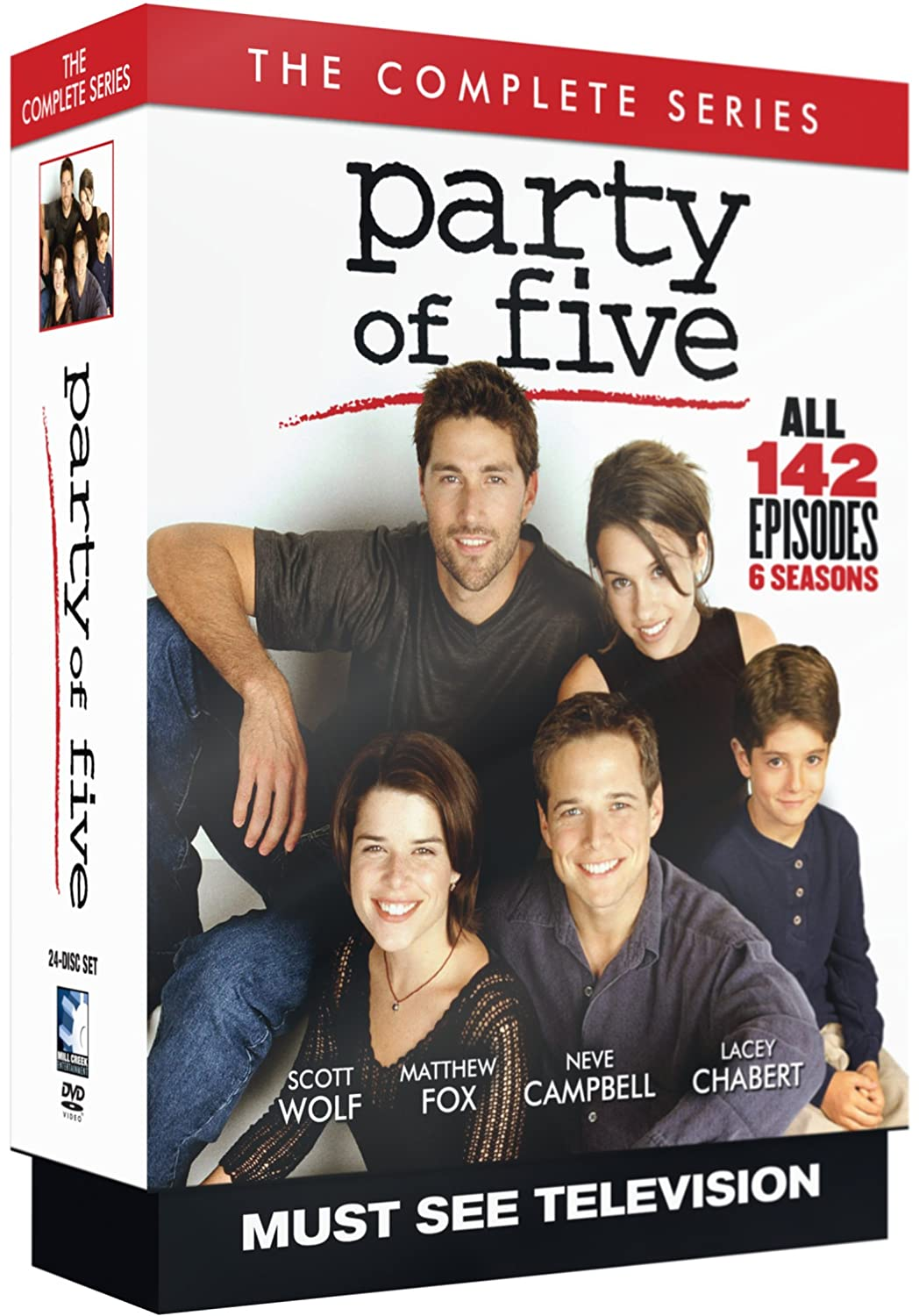 Party Of Five The Complete Series Amazoncouk Dvd Blu Ray
