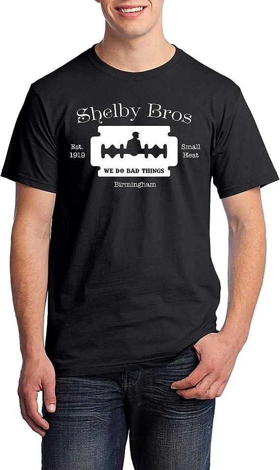 Shelby Bros Small Heat - Camiseta Negra Hombre Manga Corta