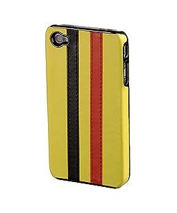 Hama Stripe Handytasche für Apple iPhone 4 gelb/schwarz/rot