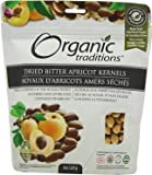 Organic Traditions Organic Kernels, Bitter Apricot, 8 Ounce