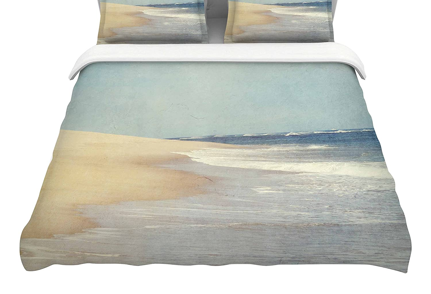 Kess InHouse Chelsea Victoria The Cape Featherweight Queen Duvet Cover 88 x 88,
