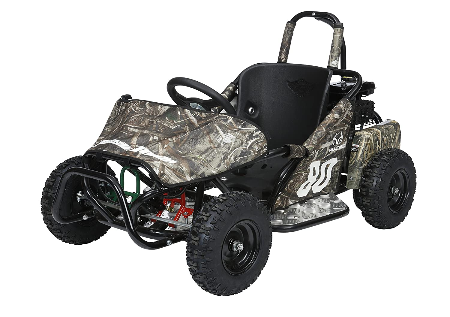 Monster Moto MM-K80RT Go Kart - Realtree Design
