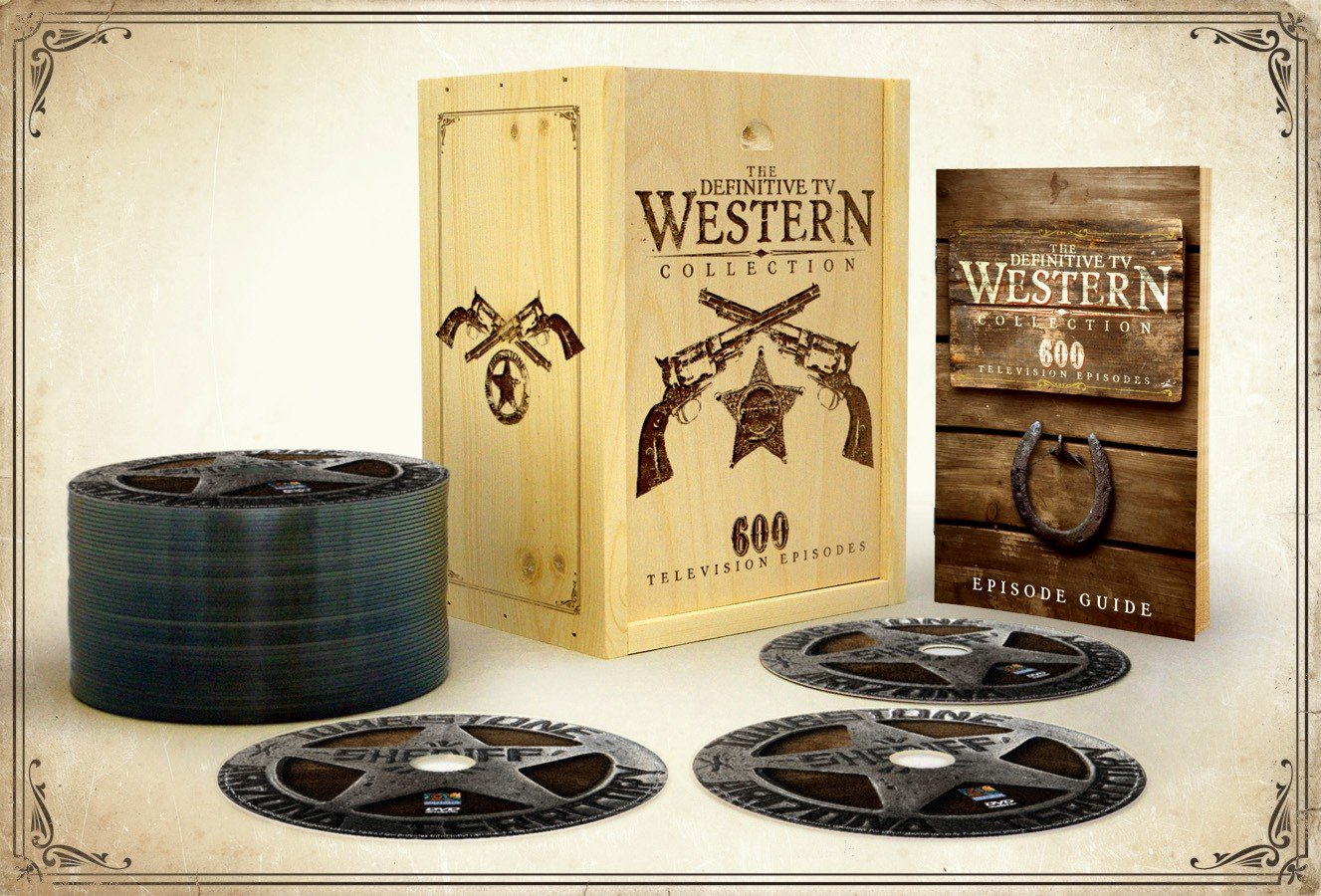 Definitive TV Western Collection - 600 Television Episodes by DIGITAL1STOP